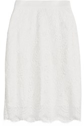 Miguelina Scarlett Lace Skirt Off White