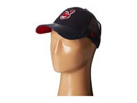 New Era Sequin Vize Cleveland Indians Team Navy Caps