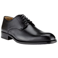 John Lewis Harrison Leather Lace Up Derby Shoes Black