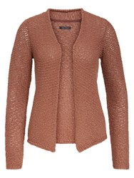 Marc O'polo Fancy Tape Cardigan Brown