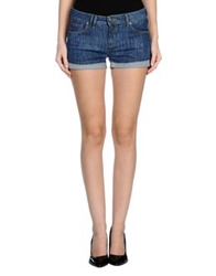 Bench Denim Shorts Blue