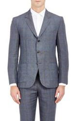 Brooklyn Tailors Unstructured Three Button Sportcoat Grey