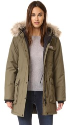 Penfield Lexington Hooded Mountain Parka Lichen