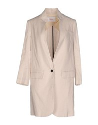 Jucca Coats And Jackets Full Length Jackets Women Ivory