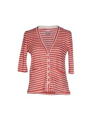 Douuod Knitwear Cardigans Women Red