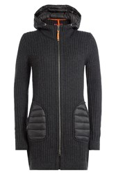 Parajumpers Blanca Wool Cardigan With Hood Gr. M