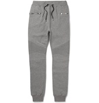 Balmain Cotton Jerey Weatpant Light Gray