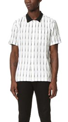 Stussy Arrow Ikat Shirt White