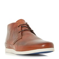 Bertie Clyde Leather Lace Up Boot Tan