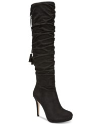 Thalia Sodi Brisa Over The Knee Boots Only At Macy's Women's Shoes Black