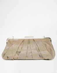 Oasis Bea Bobble Clutch Bag Gold