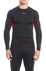 Under Armour Men's Heatgear Compression Fit Long Sleeve T Shirt