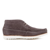 Genuine Moccasins By Grenson Men's Suede Chukka Boots Brown
