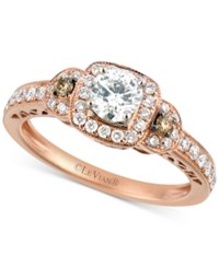 Le Vian Bridal Diamond Engagement Ring 3 4 Ct. T.W. In 14K Rose Gold