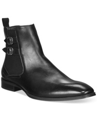 Alfani Rory Double Buckle Chelsea Boots Only At Macy's Men's Shoes Black