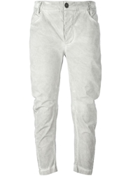 Lost And Found Rooms Cropped Slim Fit Trousers