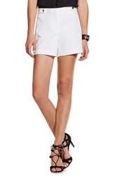 Vince Camuto Women's Stretch Cotton Shorts New Ivory