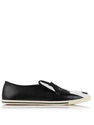Marc By Marc Jacobs Neville Neville Slip On Trainers Black Black