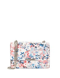 Ivanka Trump Mara Floral Leather Convertable Crossbody Multi Colored