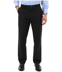 Dockers Signature Khaki D3 Classic Fit Flat Front Wells A Black St Men's Casual Pants