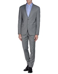 Havana And Co. Suits And Jackets Suits Men Light Grey