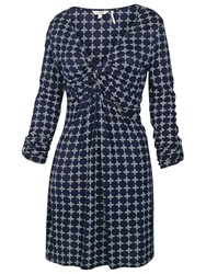 Fat Face Cotswold Jaipur Geo Tunic Navy