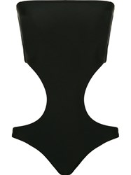 Blue Man Cut Out Swimsuit