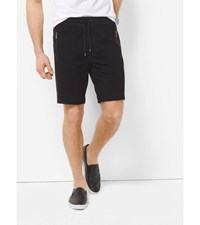 Mesh Trimmed Knit Shorts