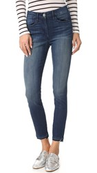 3X1 W3 Channel Seam Crop Jeans Crush