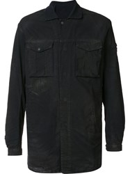 11 By Boris Bidjan Saberi Cargo Shirt Black