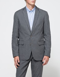 Shades Of Grey Two Button Blazer Grey Flannel