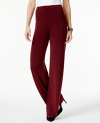 Alfani Knit Wide Leg Trousers Only At Macy's Marooned