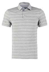 Pier One Polo Shirt Grey Melange