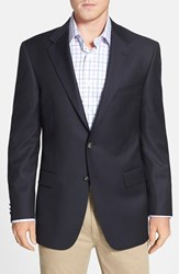 Men's Big And Tall Hickey Freeman Classic Fit Travel Blazer