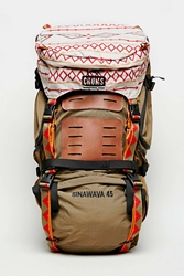 Chums Brown Sinawava 45 Backpack Chocolate