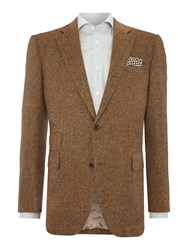 Chester Barrie Tailored Fit Jacket Donegal Ginger