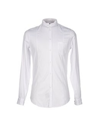 Master Coat Shirts White