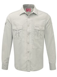 Craghoppers Nlife Ls Shirt White
