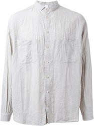 Forme D'expression 'Boxy' Casual Shirt Brown
