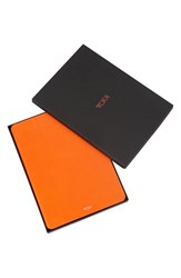 Tumi 'Prism' Leather Ipad Air 2 Case Orange Sunrise