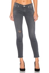 Hudson Jeans Krista Ankle Super Skinny Stormy Horizon