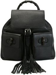 Gucci 'Bamboo' Backpack Black