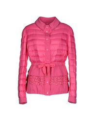 Vdp Collection Down Jackets Fuchsia