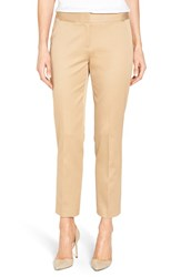 Nordstrom Women's Collection Sateen Twill Ankle Pants