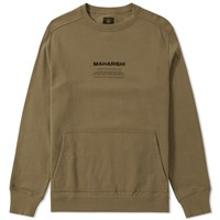 Mhi Maharishi Miltype Crew Sweat Green