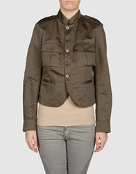Coming Soon Suits And Jackets Blazers Women Military Green