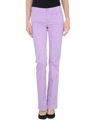 7 For All Mankind Seven7 Casual Pants Light Purple