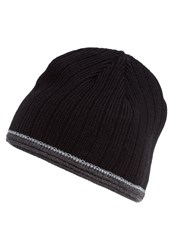 Pier One Hat Black Grey Melange