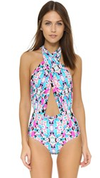 6 Shore Road Cabana Swimsuit Panama Floral