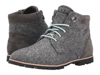 Woolrich Beebe Wool Ash Wool Suede Women's Lace Up Boots Gray